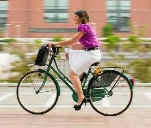 bovenbenen afvallen fietsen